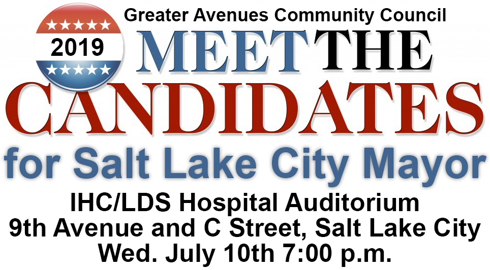 Meet the Salt Lake City Mayoral Candidates July 10th